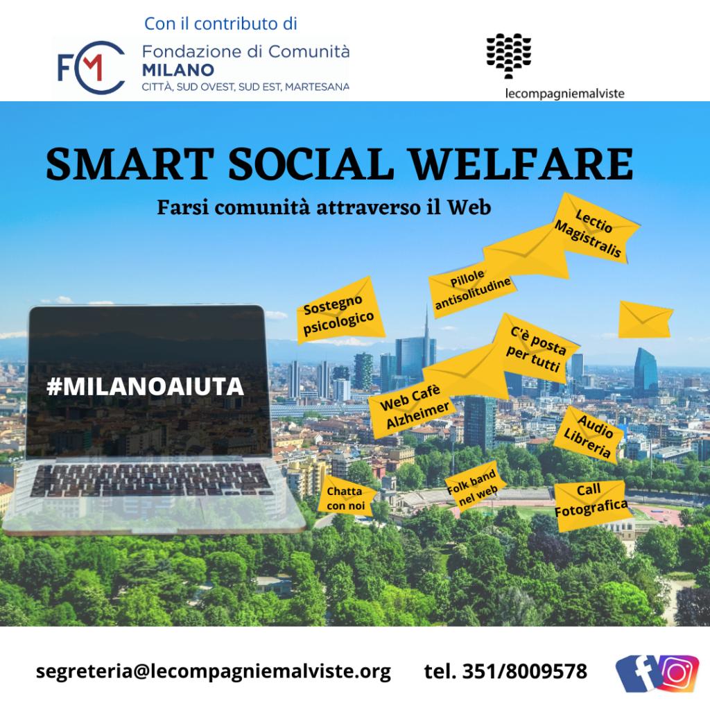 Locandina del progetto Smart Social Welfare delle Compagnie Malviste